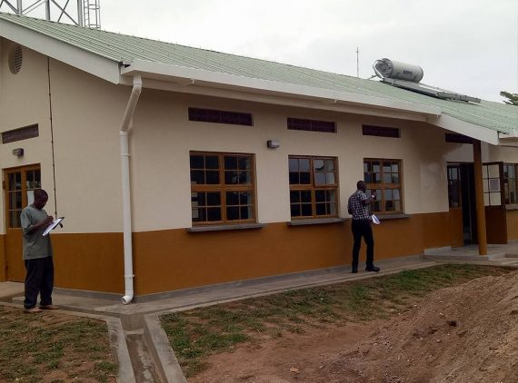 New OPD at Nakaseke Hospital Completed